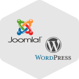 Joomla, WordPress