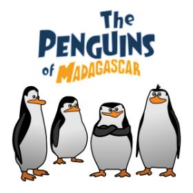 Pingvini_z_Madagaskarja