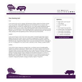 Rhino Ipsum